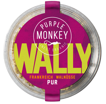 Wally Walnuesse aus Frankreich Purple Monkey