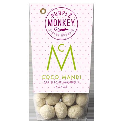 Purple-Monkey-Sweet-Fruits-&-Nuts-Coco-Mandi-Almond-Spanische-Mandeln-White-Chocolate-Schokolade-Kokos-Klemm-Design