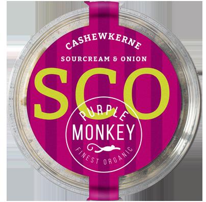 Purple-Monkey-Salty-Spicy-Nuts-Cashewkerne-Cashew-Sourcream-Onion-bio-organic-klemm-design