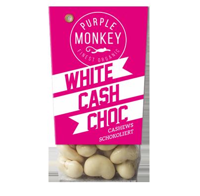 Purple-Monkey-Sweet-Fruits-&-Nuts-White-Cash-Choc-Cashews-White-Chocolate-Weiße-Schokolade-Klemm-Design