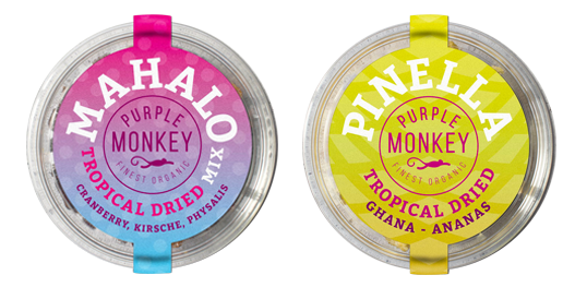 Mahalo Pinella Tropical Dried Purple Monkey